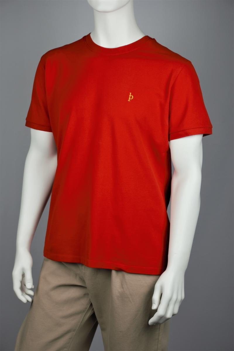 Casual-Fit Piqué T-Shirt