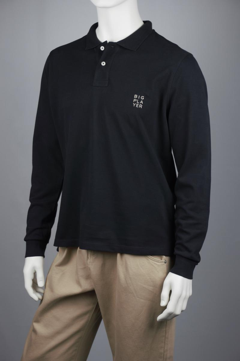 Casual-Fit Longsleeve Polo